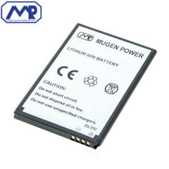 Mugen Blackberry Bold 9900 Extended Battery - 1500mAh