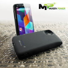 Mugen Google Nexus 5 Extended Battery Case 3000mAh - Black