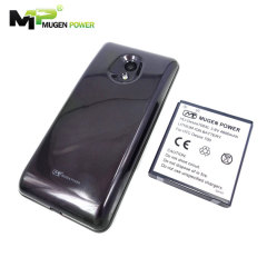 Mugen HTC Desire 700 4600mAh Extended Battery with Cover - Silver