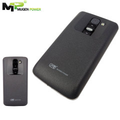 Mugen LG G2 Mini 3800mAh Extended Battery with Cover - White / Black