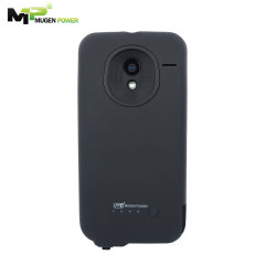 Mugen Motorola Moto X Extended Battery Case 2800mAh - Black