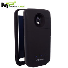 Mugen Motorola Moto X Extended Battery Case with Micro SD Slot - Black