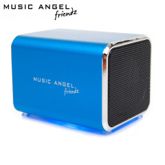 Music Angel Friendz Portable Stereo Speaker - Blue
