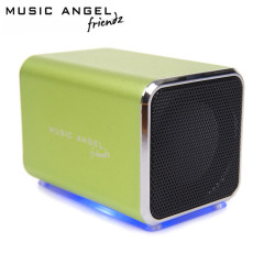 Music Angel Friendz Portable Stereo Speaker - Green