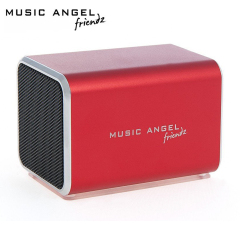 Music Angel Friendz Portable Stereo Speaker - Red