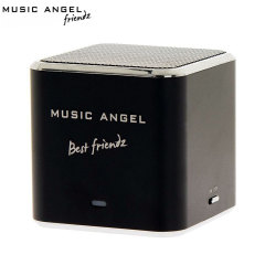 Music Angel Mini Best Friendz Universal Speaker - Black