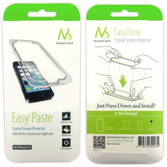 Mustard Seed Easy Paste Crystal Screen Protector for iPhone 5S / 5