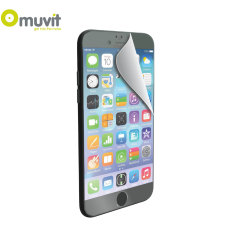 Muvit 2 Pack Matte & Glossy iPhone 6 Plus Screen Protectors