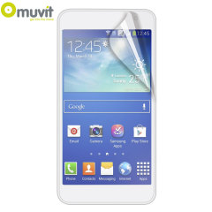 Muvit 2 Pack Matte & Glossy Samsung Galaxy A3 Screen Protectors