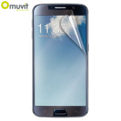 Muvit 2 Pack Matte & Glossy Samsung Galaxy S6 Screen Protectors