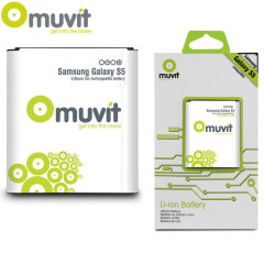 Muvit 2800mAh Standard Battery for Samsung Galaxy S5