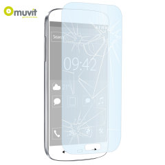 Muvit Anti-Shock Tempered Glass Screen Protector for Galaxy S5