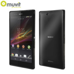 Muvit Bimat Back Case for Sony Xperia Z Ultra - Clear / Black