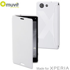 Muvit Easy Folio Leather-Style Sony Xperia Z3 Compact Case - White