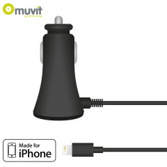Muvit Lightning Car Charger - 1A