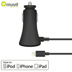 Muvit Lightning Car Charger - 2.1A