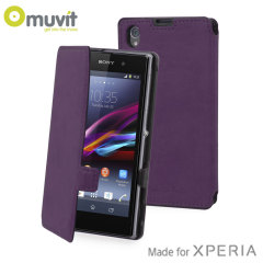 Muvit Made in Paris Case for Sony Xperia Z1 - Violet
