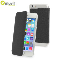 Muvit Made in Paris iPhone 6 Crystal Folio Case - Black