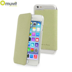 Muvit Made in Paris iPhone 6 Crystal Folio Case - Lime