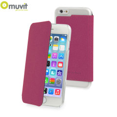Muvit Made in Paris iPhone 6 Crystal Folio Case - Pink