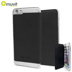 Muvit Made in Paris iPhone 6 Plus Crystal Folio Case - Black