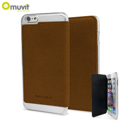 Muvit Made in Paris iPhone 6 Plus Crystal Folio Case - Brown