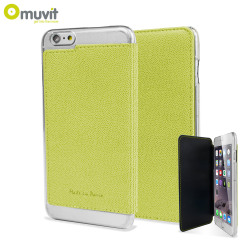 Muvit Made in Paris iPhone 6 Plus Crystal Folio Case - Lime