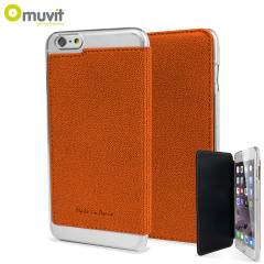 Muvit Made in Paris iPhone 6 Plus Crystal Folio Case - Orange