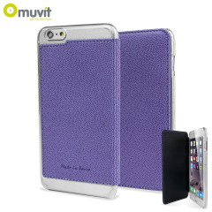 Muvit Made in Paris iPhone 6 Plus Crystal Folio Case - Purple