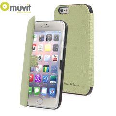Muvit Made in Paris iPhone 6 Plus Slim Folio Case - Lime