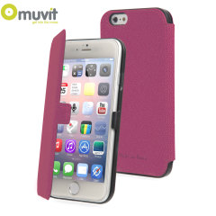 Muvit Made in Paris iPhone 6 Plus Slim Folio Case - Pink