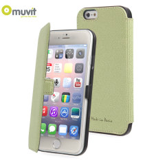 Muvit Made in Paris iPhone 6 Slim Folio Case - Lime