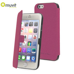 Muvit Made in Paris iPhone 6 Slim Folio Case - Pink