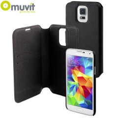 Muvit Magic Folio 2-in-1 Case & Cover for Samsung Galaxy S5 - Black