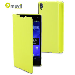 Muvit Magic Folio 2-in-1 Case & Cover for Xperia Z1 Compact - Lime