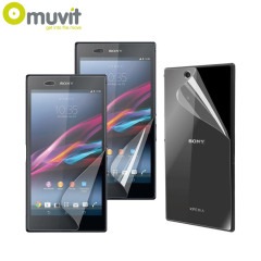 Muvit Matte & Glossy Screen Protectors for Sony Xperia Ultra Z