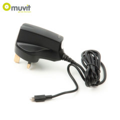 Muvit MFI Lightning UK Mains Charger - 2.1A