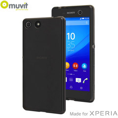 Muvit MFX MiniGel Sony Xperia M5 Case - Smoke Black