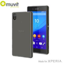 Muvit MFX MiniGel Sony Xperia Z5 Premium Case - Dark Smoke