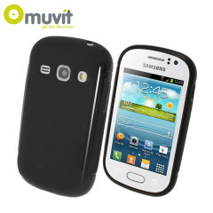 Muvit miniGEL Case for Samsung Galaxy Fame - Black