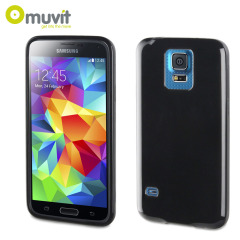 Muvit miniGEL Case for Samsung Galaxy S5 - Black