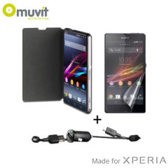 Muvit Premium Essential Pack for Sony Xperia Z1 Compact