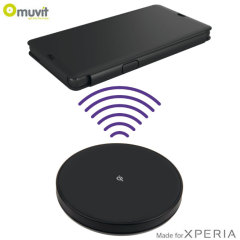 Muvit Qi Wireless Charging Kit for Sony Xperia Z - EU Plug