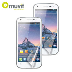 Muvit Screen Protectors for Wiko Cink Peax 2