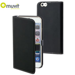 Muvit Slim Folio iPhone 6 Case - Black