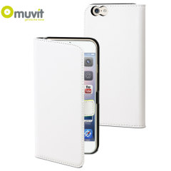 Muvit Slim Folio iPhone 6 Case - White