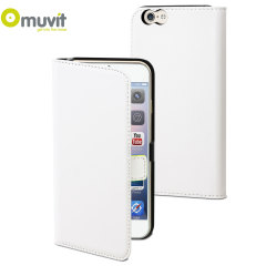 Muvit Slim Folio iPhone 6 Plus Case - White
