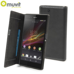 Muvit Sony Xperia Z Ultra Slim Folio Case - Black