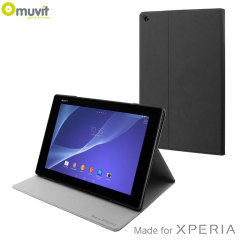 Muvit Sony Xperia Z4 Tablet Smart Case with Stand - Black