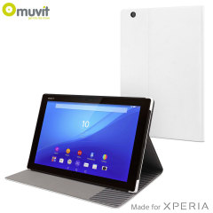 Muvit Sony Xperia Z4 Tablet Smart Case with Stand - White